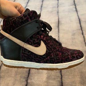 Nike Sky Hugh Wedge Sneakers